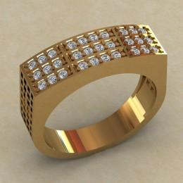 Мужское кольцо КМ-812