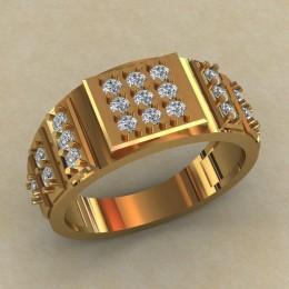 Мужское кольцо КМ-813
