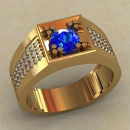Мужское кольцо КМ-814