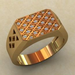 Мужское кольцо КМ-815