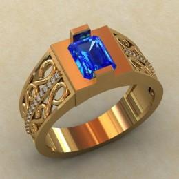 Мужское кольцо КМ-816