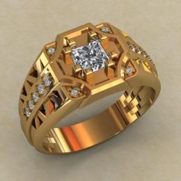 Мужское кольцо КМ-817