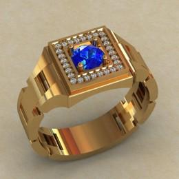 Мужское кольцо КМ-818