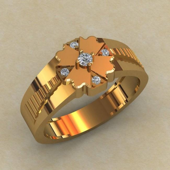 Мужское кольцо КМ-819