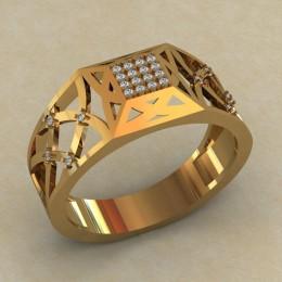 Мужское кольцо КМ-820