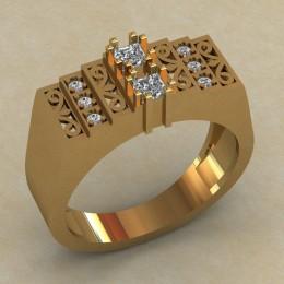 Мужское кольцо КМ-821