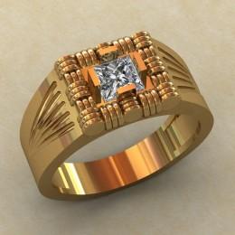 Мужское кольцо КМ-822