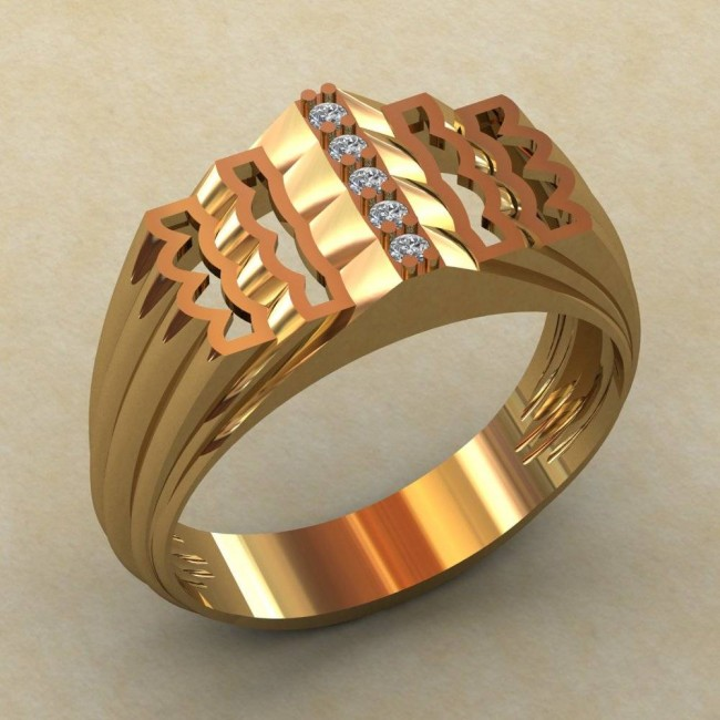 Мужское кольцо КМ-823