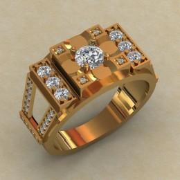 Мужское кольцо КМ-824