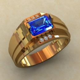 Мужское кольцо КМ-825