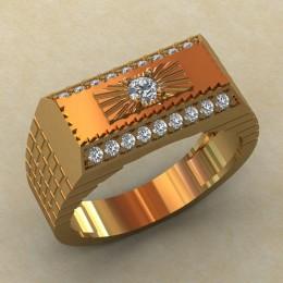 Мужское кольцо КМ-826