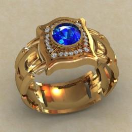 Мужское кольцо КМ-827