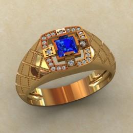 Мужское кольцо КМ-828