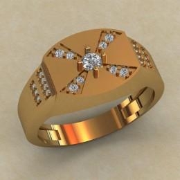 Мужское кольцо КМ-829