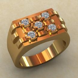 Мужское кольцо КМ-830