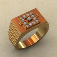 Мужское кольцо КМ-832