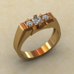 Мужское кольцо КМ-833