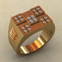 Мужское кольцо КМ-834