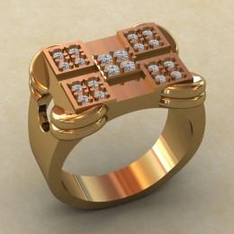 Мужское кольцо КМ-835
