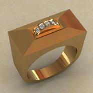 Мужское кольцо КМ-836