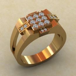 Мужское кольцо КМ-837