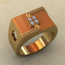 Мужское кольцо КМ-838