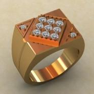 Мужское кольцо КМ-839
