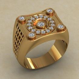 Мужское кольцо КМ-840