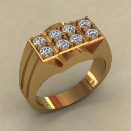 Мужское кольцо КМ-841
