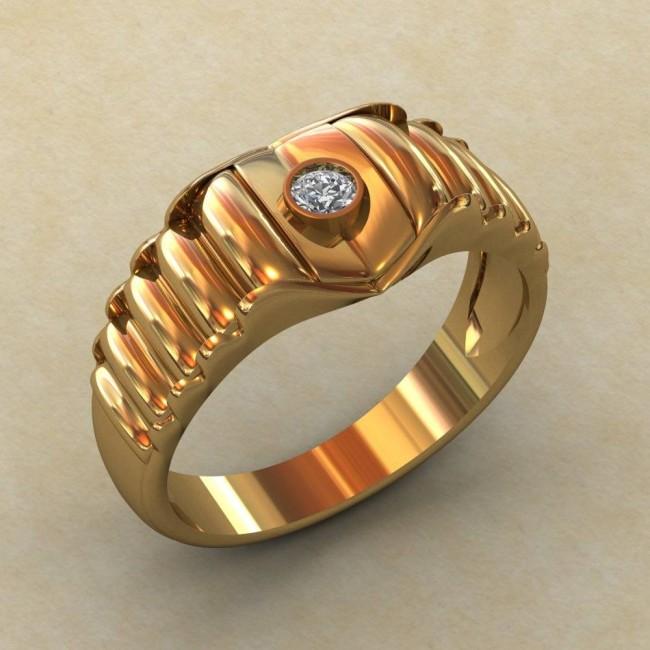 Мужское кольцо КМ-842