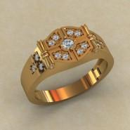 Мужское кольцо КМ-843
