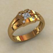 Мужское кольцо КМ-844