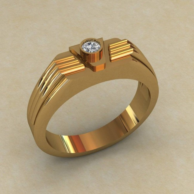 Мужское кольцо КМ-845