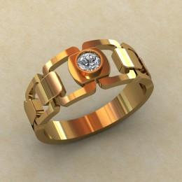 Мужское кольцо КМ-846