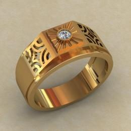 Мужское кольцо КМ-847