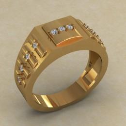 Мужское кольцо КМ-848