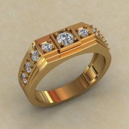 Мужское кольцо КМ-849