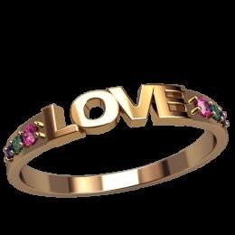 Женское кольцо 2582