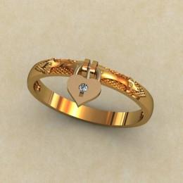 Кольцо женское 0161-КЦ