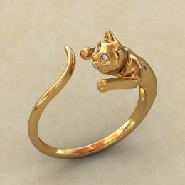 Женское кольцо 0278-КЦ