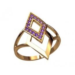 Женское кольцо 2637