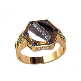 Мужское кольцо 3179