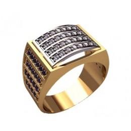 Мужское кольцо 3180