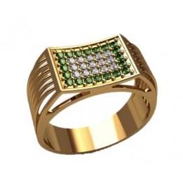 Мужское кольцо 3182