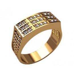 Мужское кольцо 3183