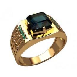 Мужское кольцо 3185