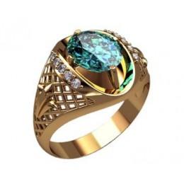 Мужское кольцо 3186
