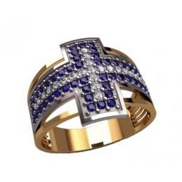 Мужское кольцо 3187