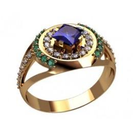 Мужское кольцо 3189