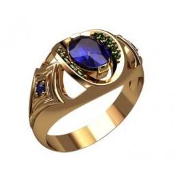 Мужское кольцо 3191